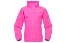 The North Face Girl's Resolve Jacket linaria pink